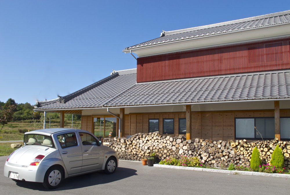 The creamery and farm store at Mirasaka Fromage.
