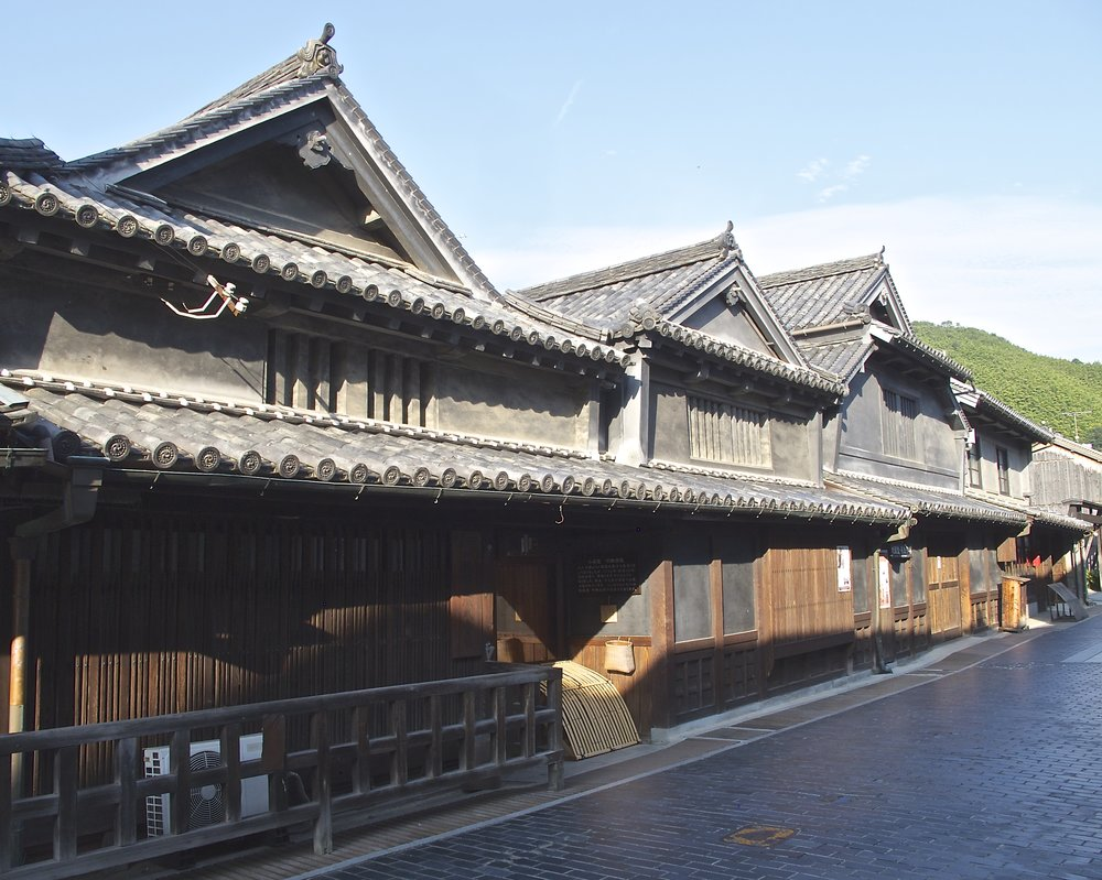 The ancient early Edo era buildings of Taketsuru Shuzo.