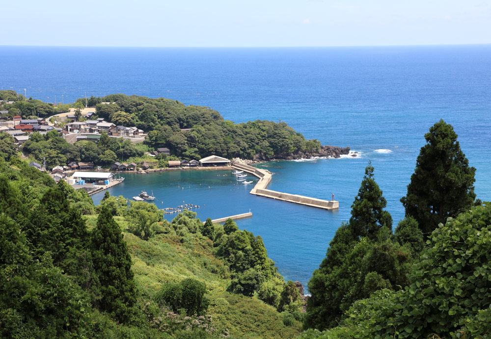 The tiny fishing village of Nizaki is one of many along the coast of the Tango Peninsula.