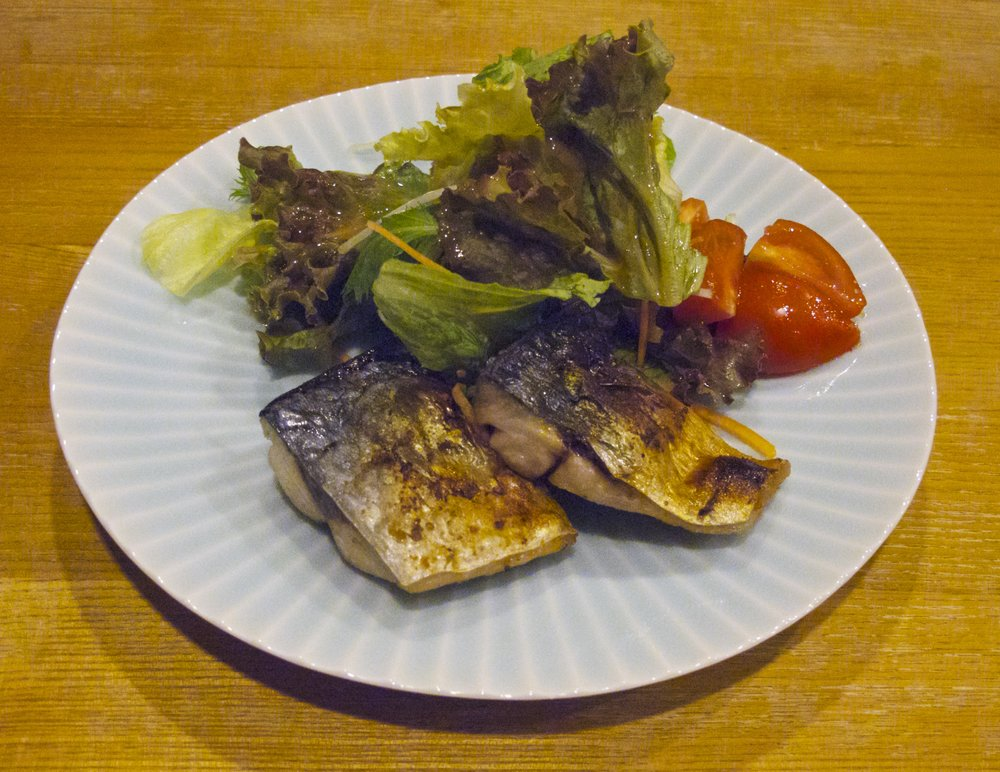 Grilled Spanish Mackerel