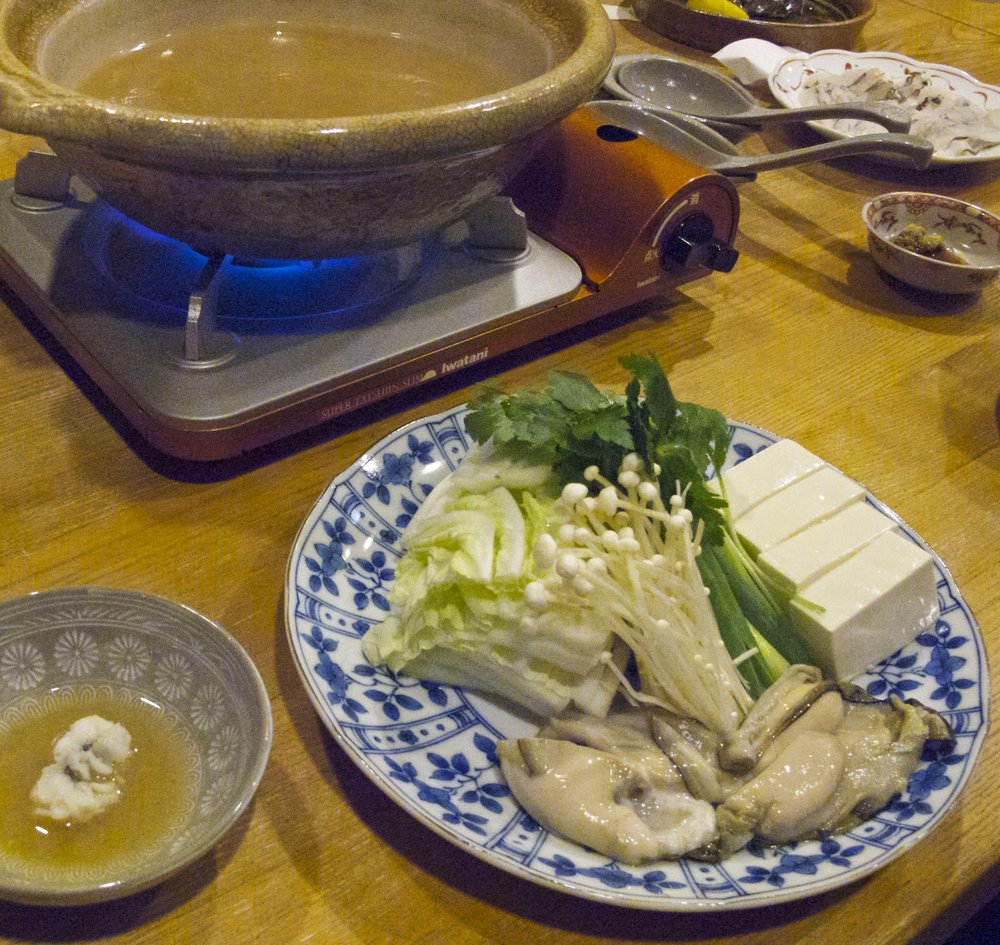 Miso Nabe Hot Pot