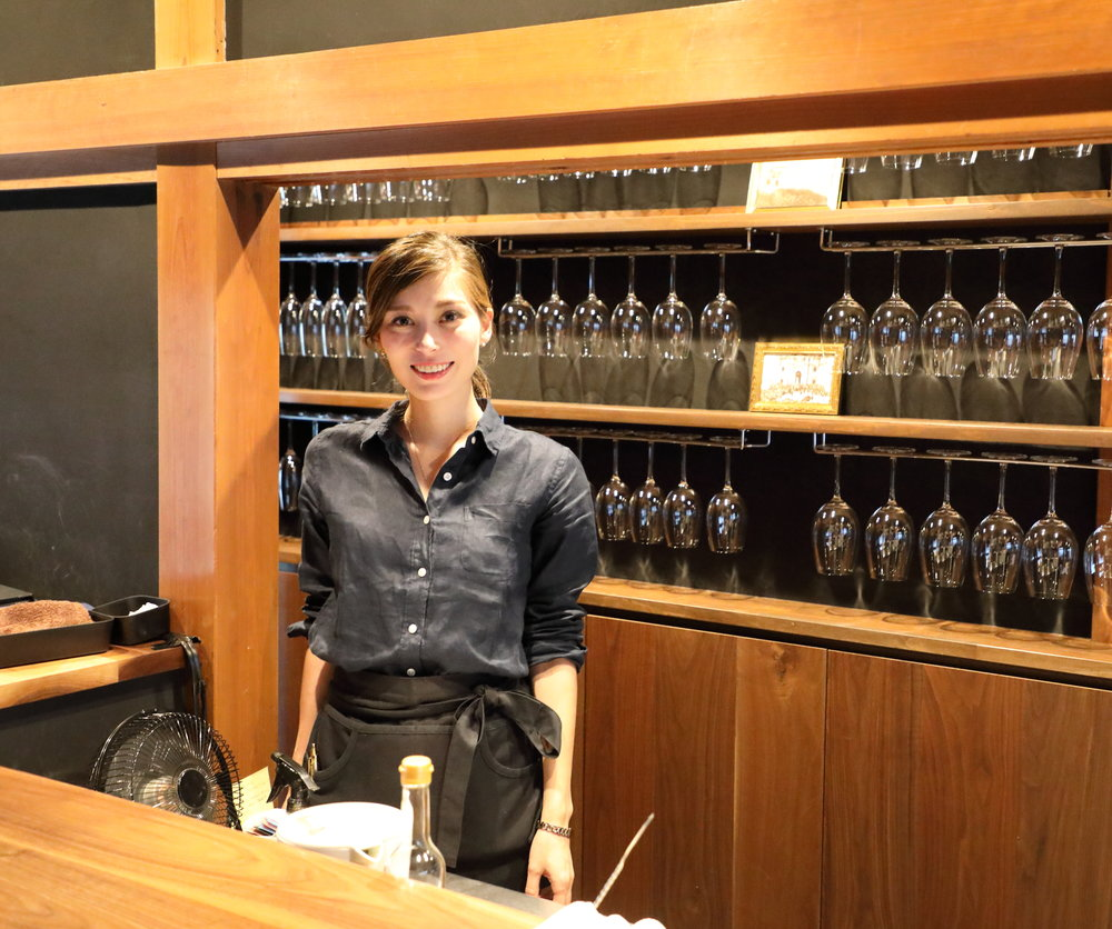 Aceto's manager Hana Hamilton is a warm and gracious host, who is happy to tell you, in Japanese or English, how the food is prepared and the ways in which the dishes incorporate the wide range of acidic seasonings that are used.