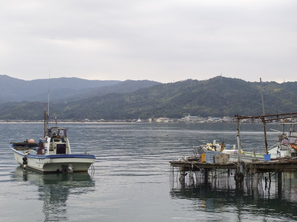 Kunda Bay, where Iio Jozo is located, is a quiet corner of Kyoto prefecture's scenic coastline.