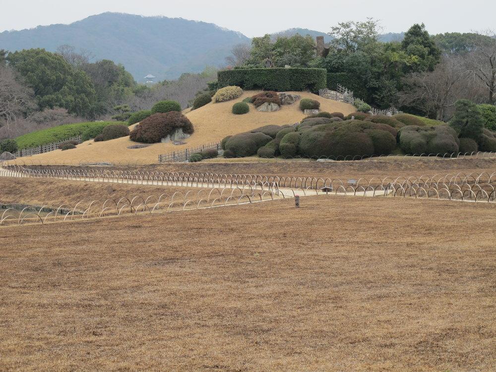 Yuishinzan Hill at Kōrakuen.