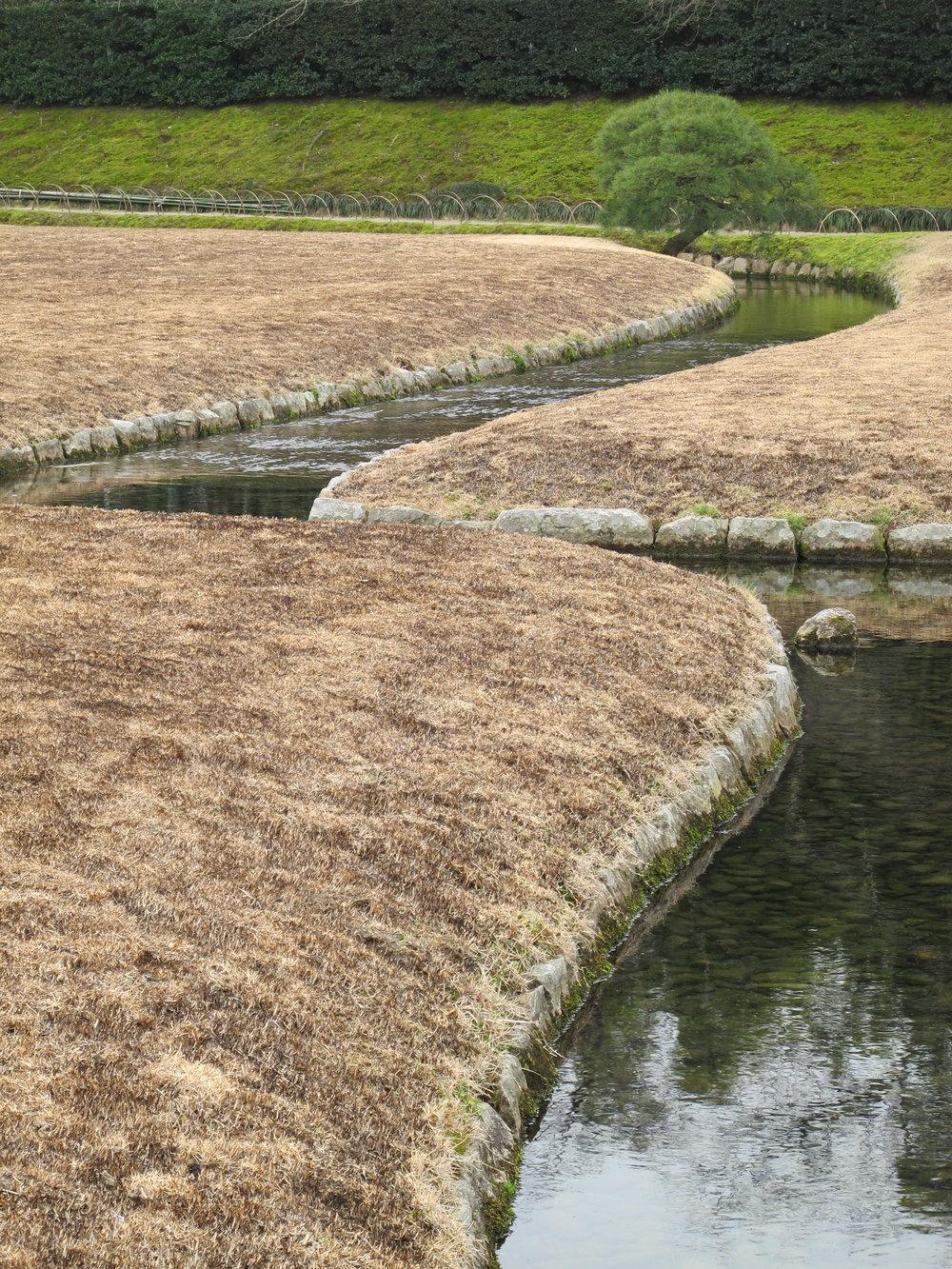 Kyokusui Stream at Kōrakuen.