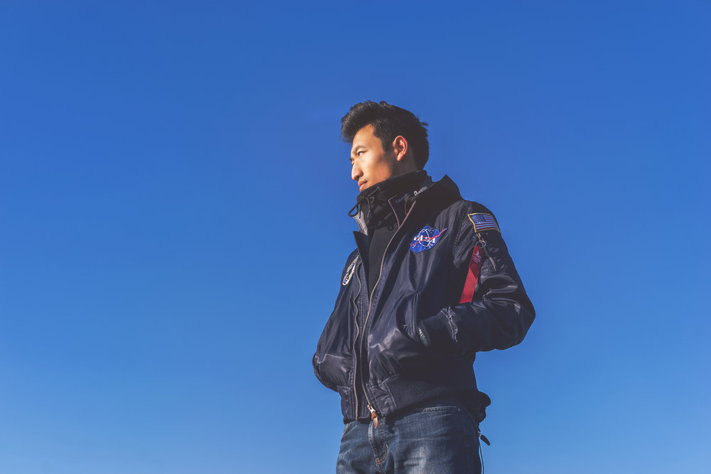 He is usually spotted wearing his signature bomber jacket showing off NASA. To learn more about him, click on the image for his Instagram!