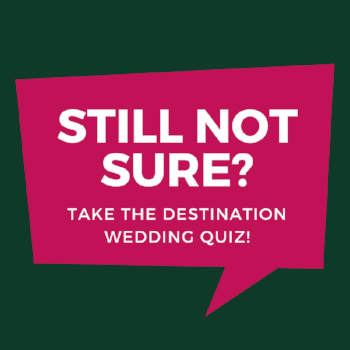 how to have a destination wedding quiz