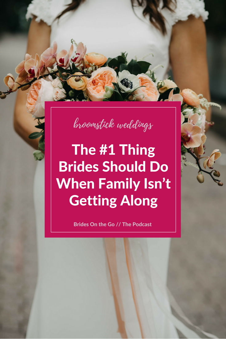 how to stop arguing on your wedding day family conflict