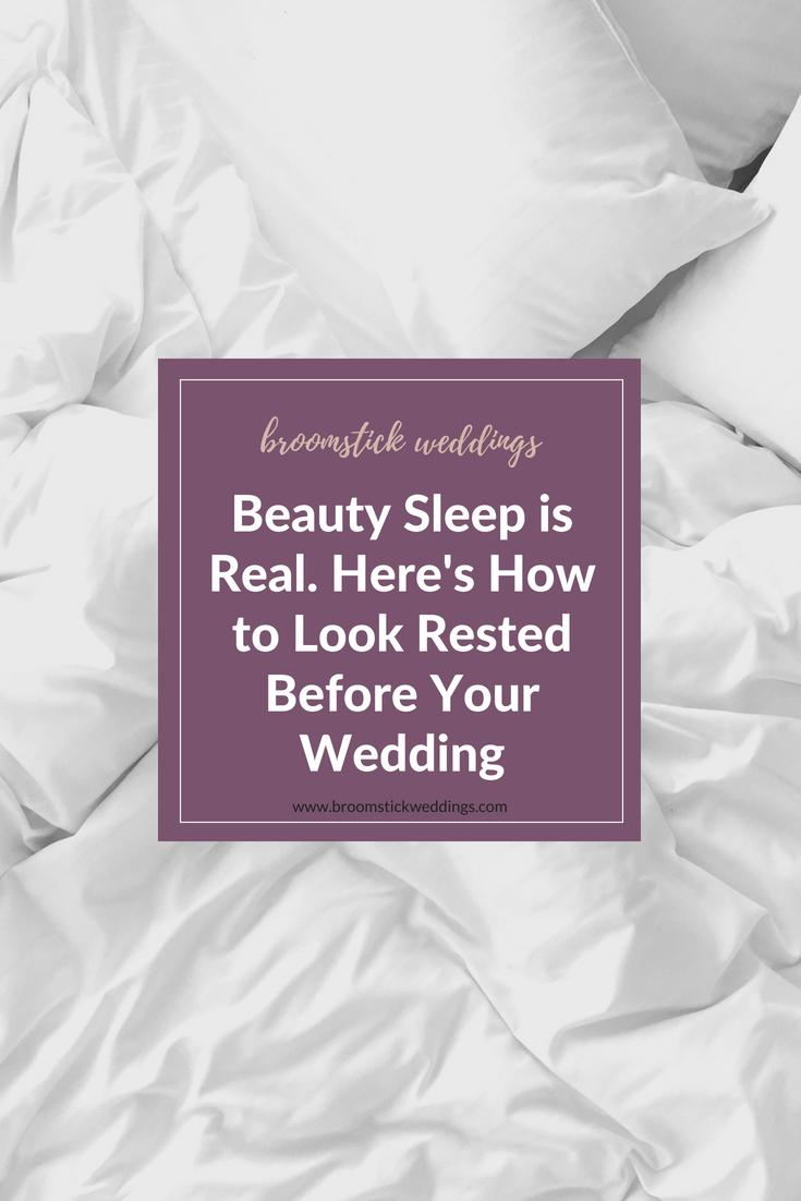 wedding beauty sleep / broomstick weddings