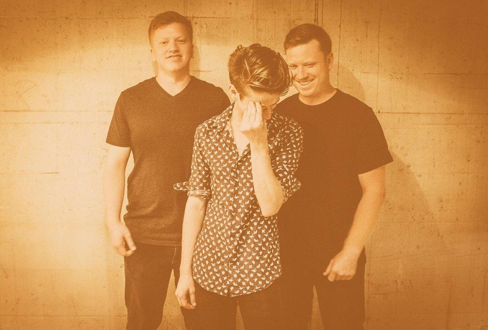 Mark, Zaine, and Matt