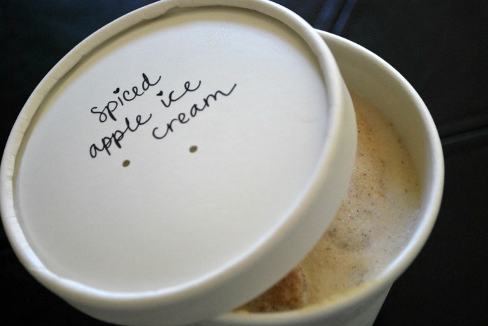 spiced apple ice cream 2