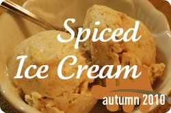 spiced ice cream