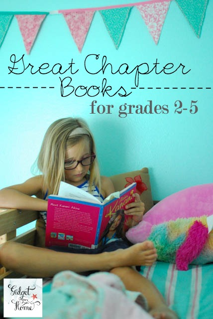 great chapter books for grades 2-5