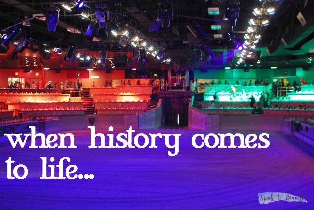 when history comes to life... our day at Medieval Times
