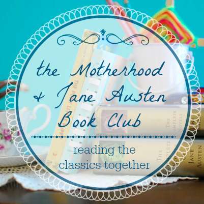 motherhood and jane austen button