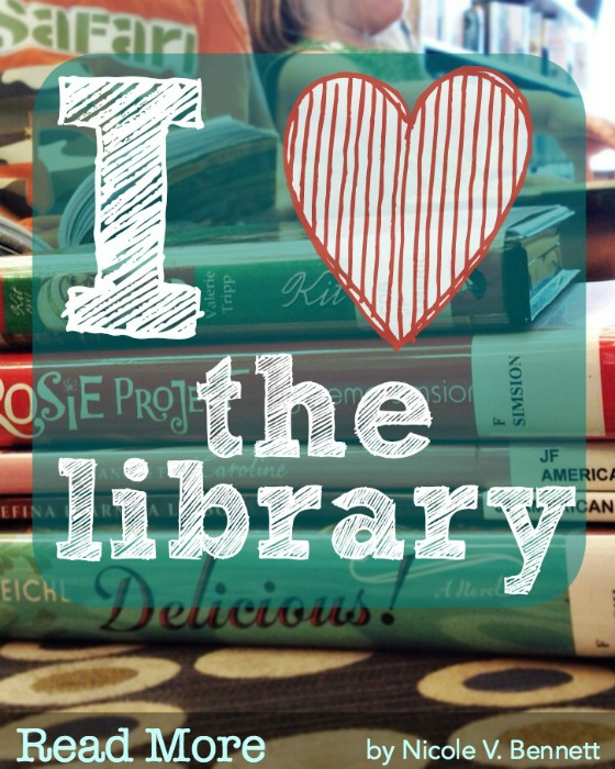 I heart the library
