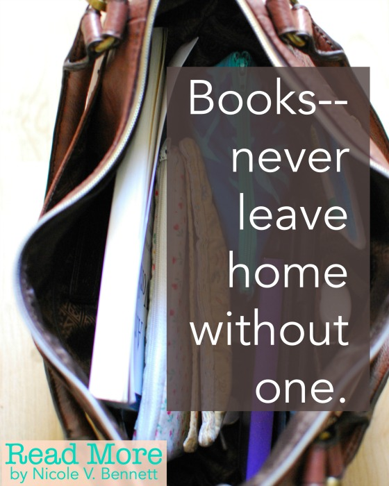 books-- never leave home without one