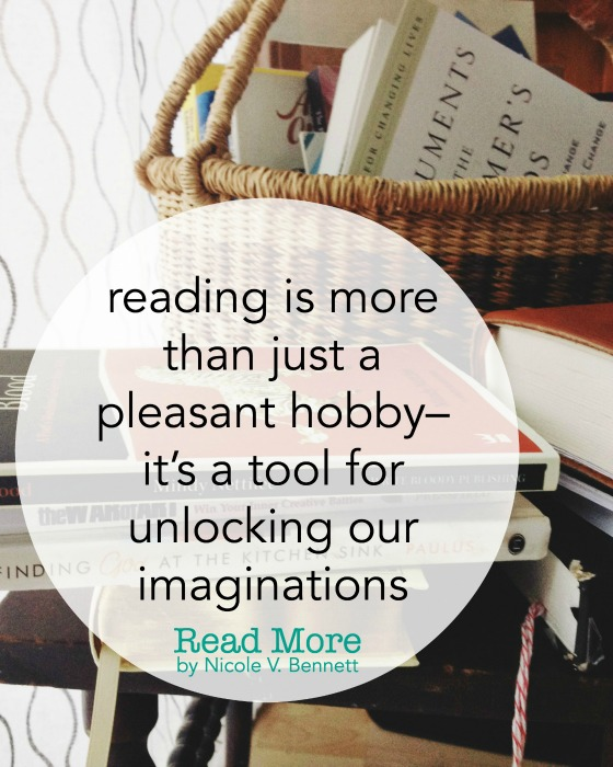 reading is more than just a pleasant hobby