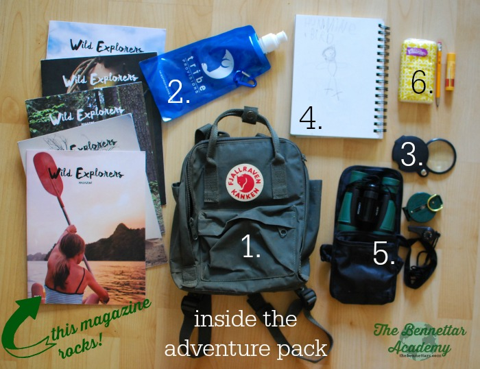 elements of an adventure pack