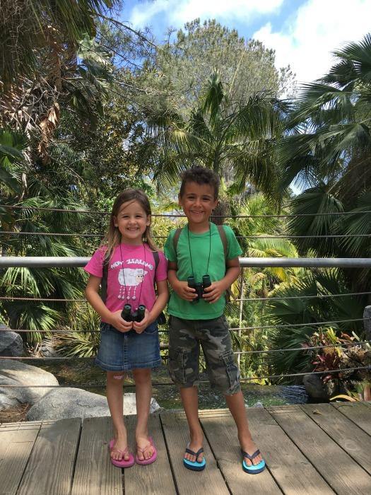 exploring botanical gardens