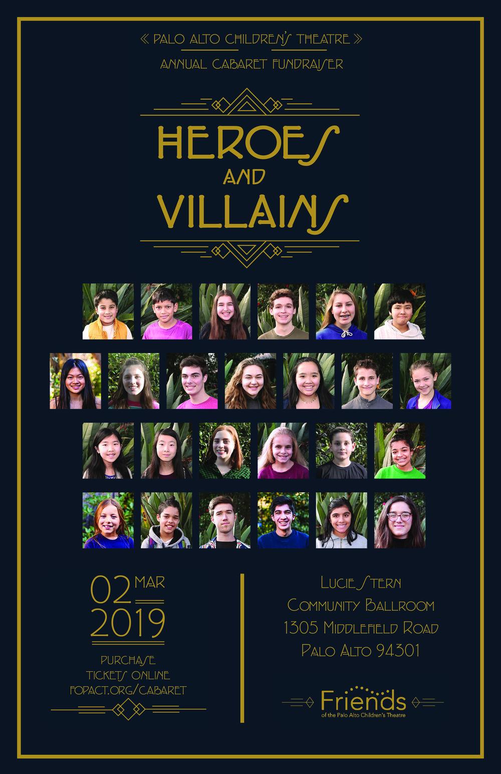 Promotional Poster for Palo Alto Children's Theatre production