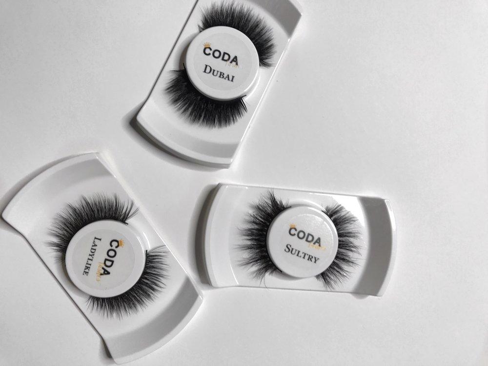 CODA silk lashes