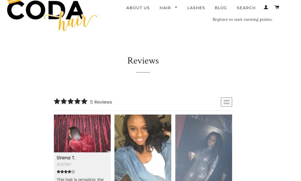 CODA reviews
