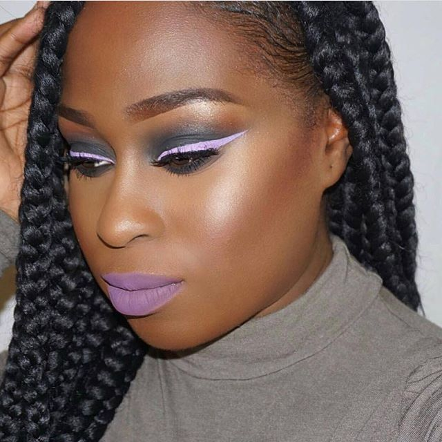 A Look 💜 #Saturdaynightvibes @g_bubblegumz_ in our Vixen lashes