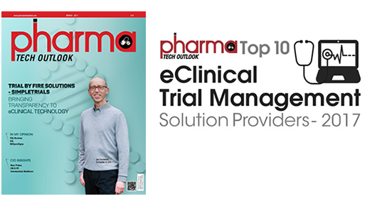 SimpleTrials Pharmatech Outlook cover story