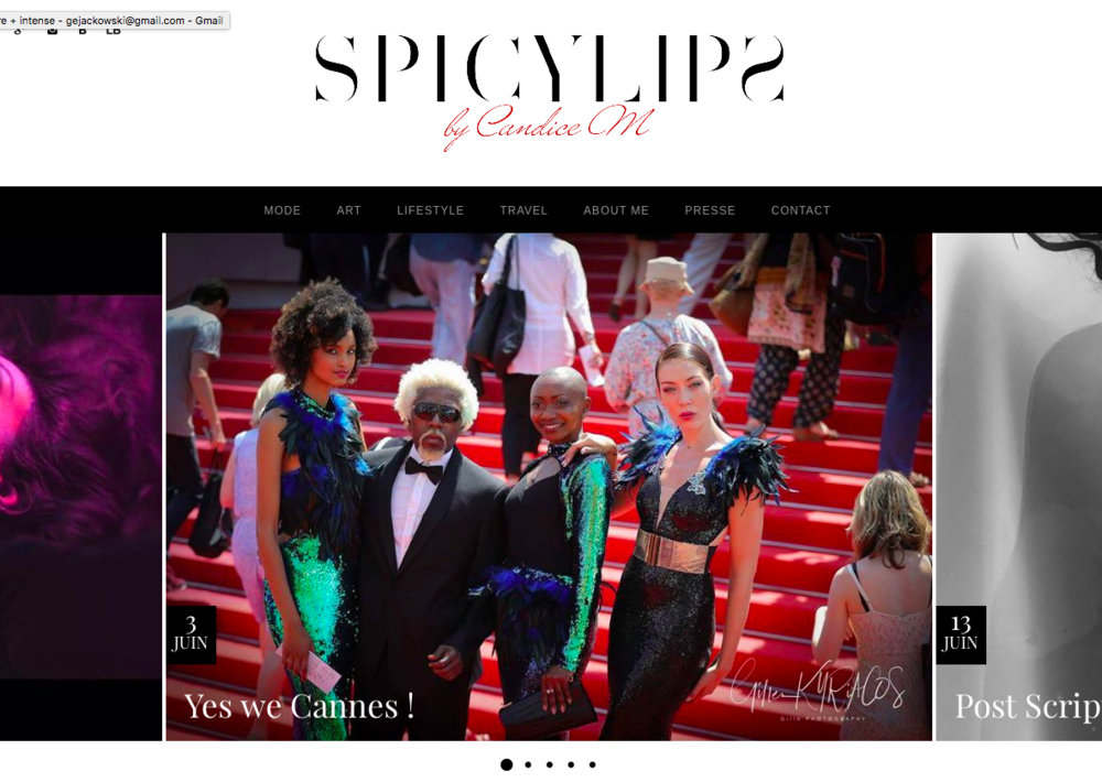 Spicylips.com by Candice Maury