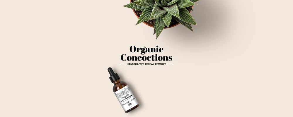 organic concoctions - skin care branding & packaging