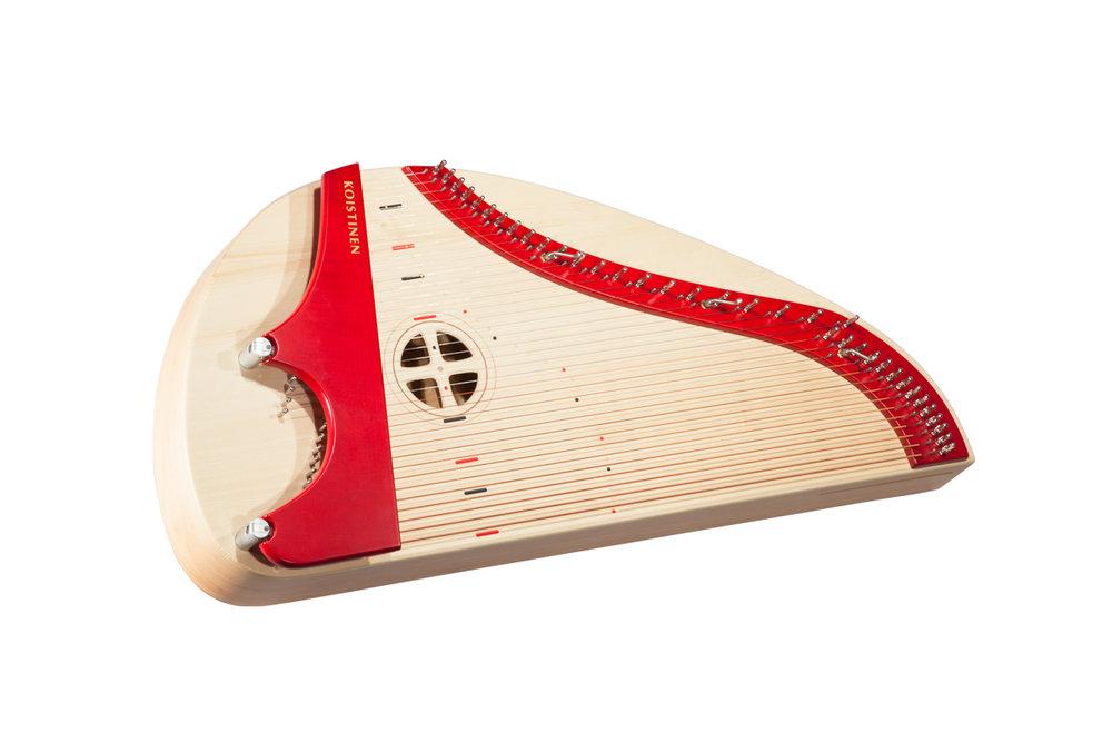 Acoustic36 kotikantele, home kantele, 36-kielinen kotikantele, moderni kotikantele