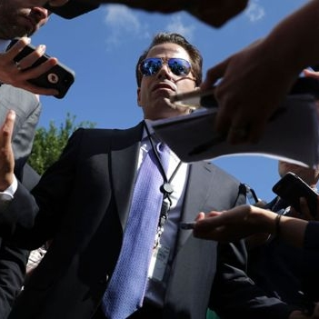 ARRIVEDERCI, MOOCH     The story of Anthony Scaramucci, the fast-talking, front-stabbing man from Long Island who became the shortest-serving White House communications director in history.
