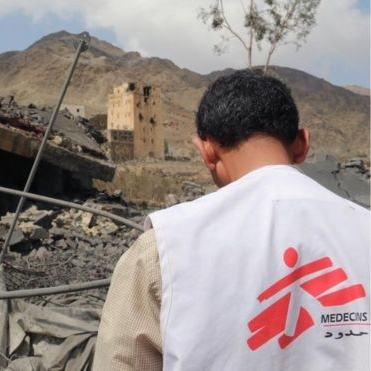 PRACTISING MEDICINE UNDER FIRE     Saada is among the most dangerous parts of Yemen. Dr Mariela Carrara was just days into her posting there when a husband and wife were rushed into the hospital.