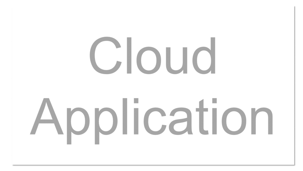 "A software application that is never installed on a local machine - it's always accessed over the Internet. The ""top"" layer of the Cloud Pyramid where ""applications"" are run and interacted with via a web-browser. Cloud Applications are tightly controlled, leaving little room for modification. Examples include: Gmail or SalesForce.com."
