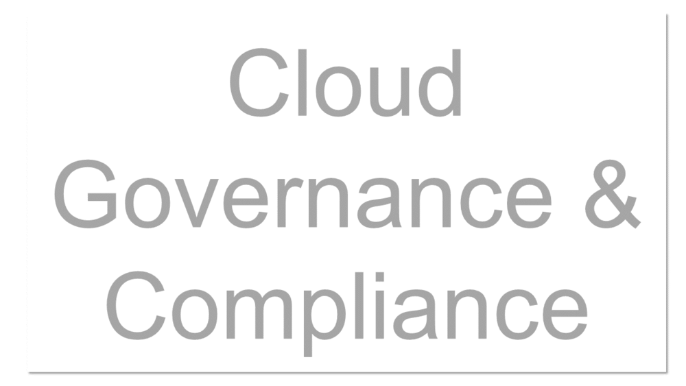 Governance defines who's responsible for what and the policies and procedures that users need to follow. Cloud governance requires governing your own infrastructure as well as infrastructure that you don't totally control. Cloud governance has two key components: understanding compliance and risk and business performance goals.