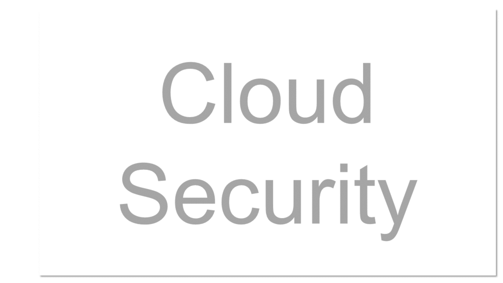 The same security principles that apply to on-site computing apply to cloud computing security