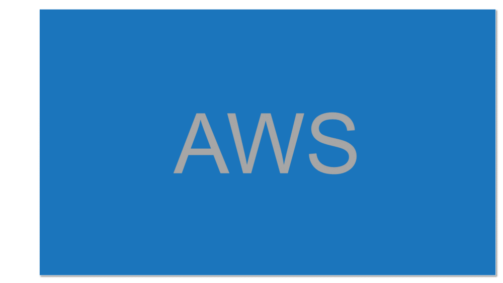 Amazon Web Services  The Cloud platform developed and provided by Amazon offering computing power, databases, storage and analytics services in an on-demand computing model