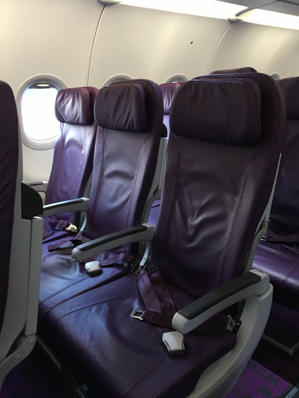 Coach Seats on WOW Air.