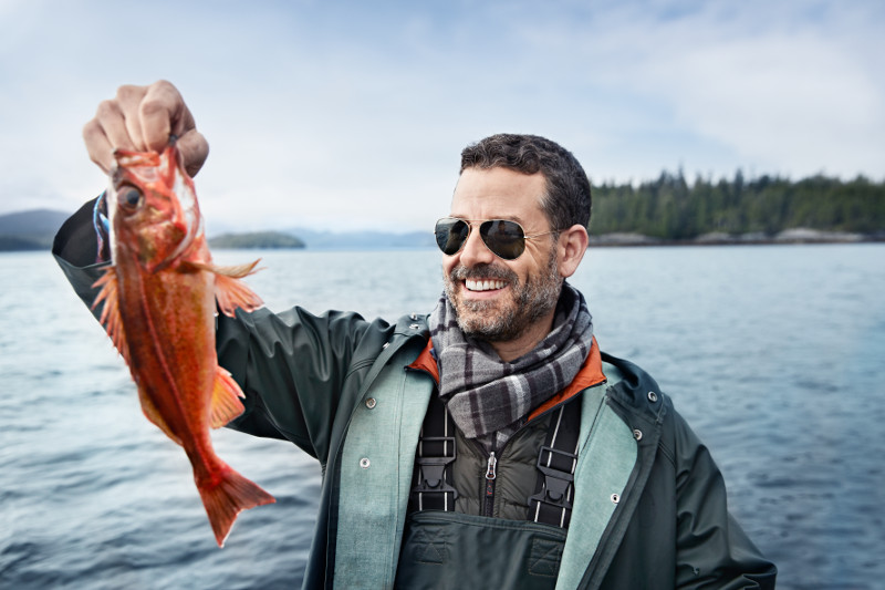 """On Alaska cruises, Princess offers a """"cook my catch"""" excursion, where you can go fishing, and then have the chef prepare what you caught for dinner that evening! (Photo courtesy of Princess Cruises)."""