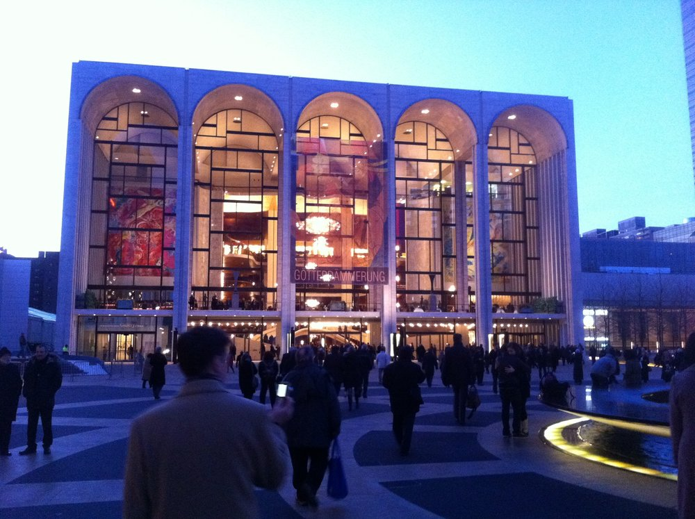 How about a fancy night out in New York City? You can get rush tickets to the Metropolitan Opera for a song!