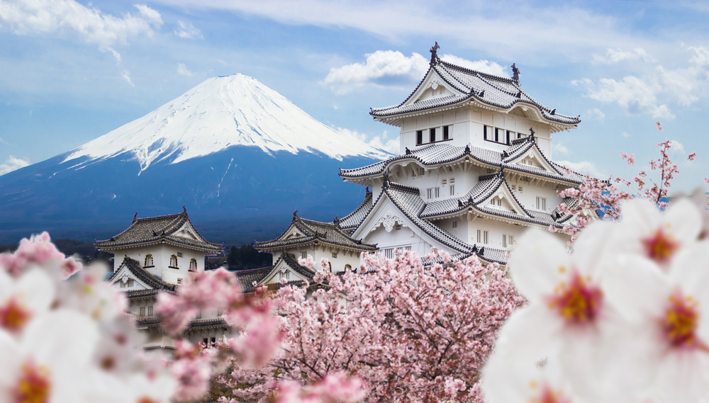 Visit Japan for the Cherry Blossom Festival. It'd be the trip-of-a-lifetime!