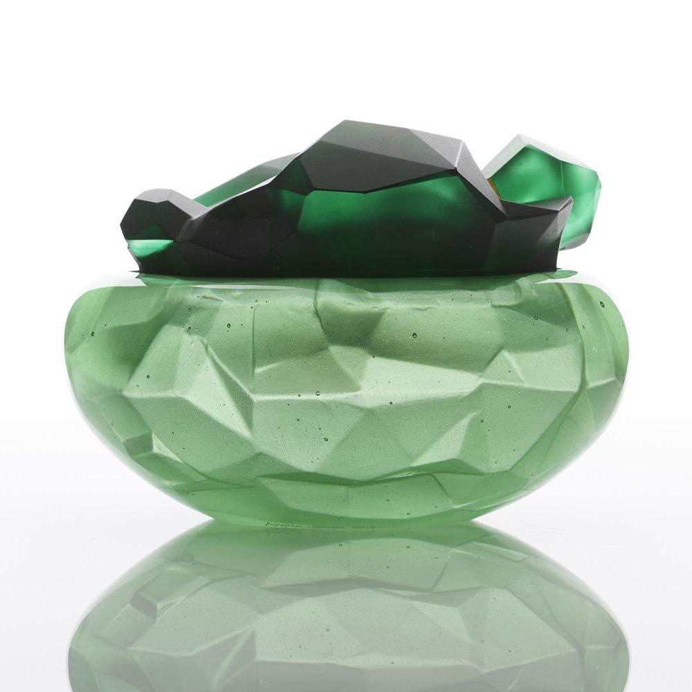 Peridot Geode | 2016 | Angela Jarman