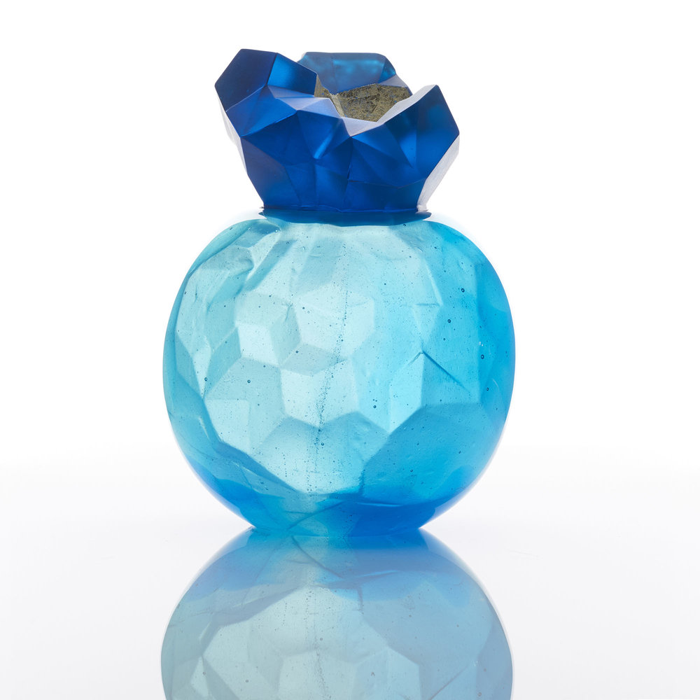 Blue Topaz Geode | 2016 | Angela Jarman