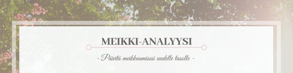 Meikki-analyysi
