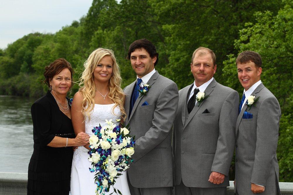 My lovely family.