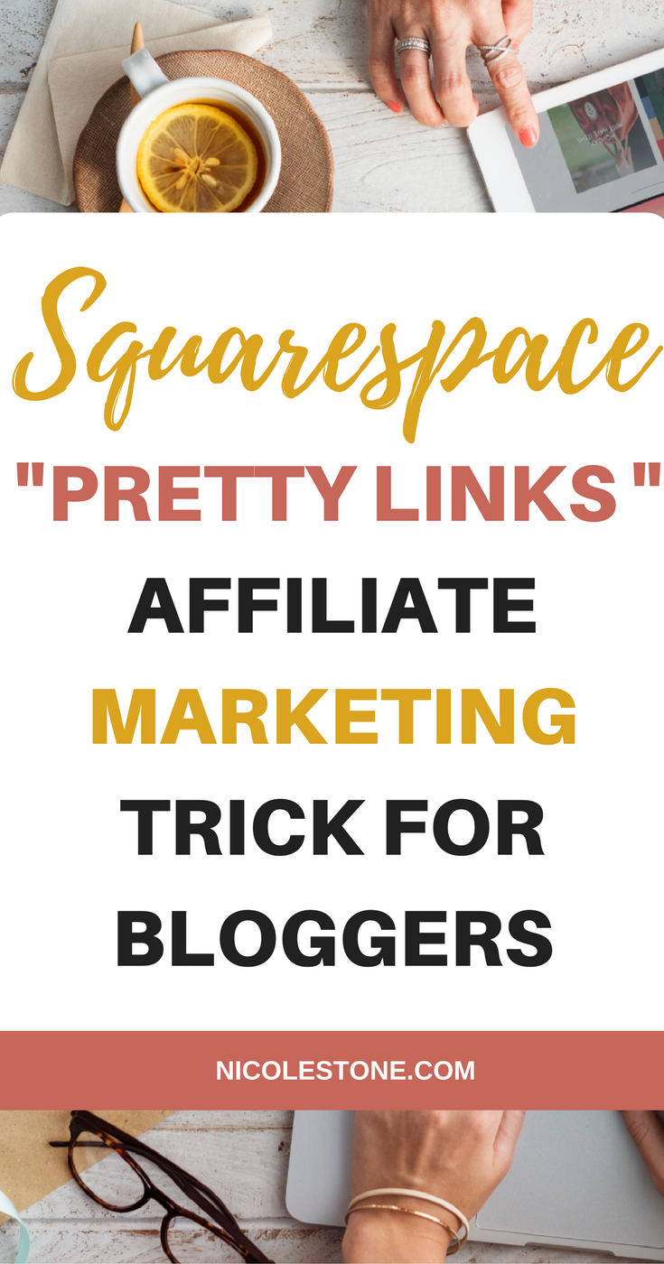 Squarespace URL mapping is a perfect Pretty Links alternative.  Shorten your links with the Squarespace URL mapping feature.  Shortlinks for affiliate marketing. #marketing #squarespace
