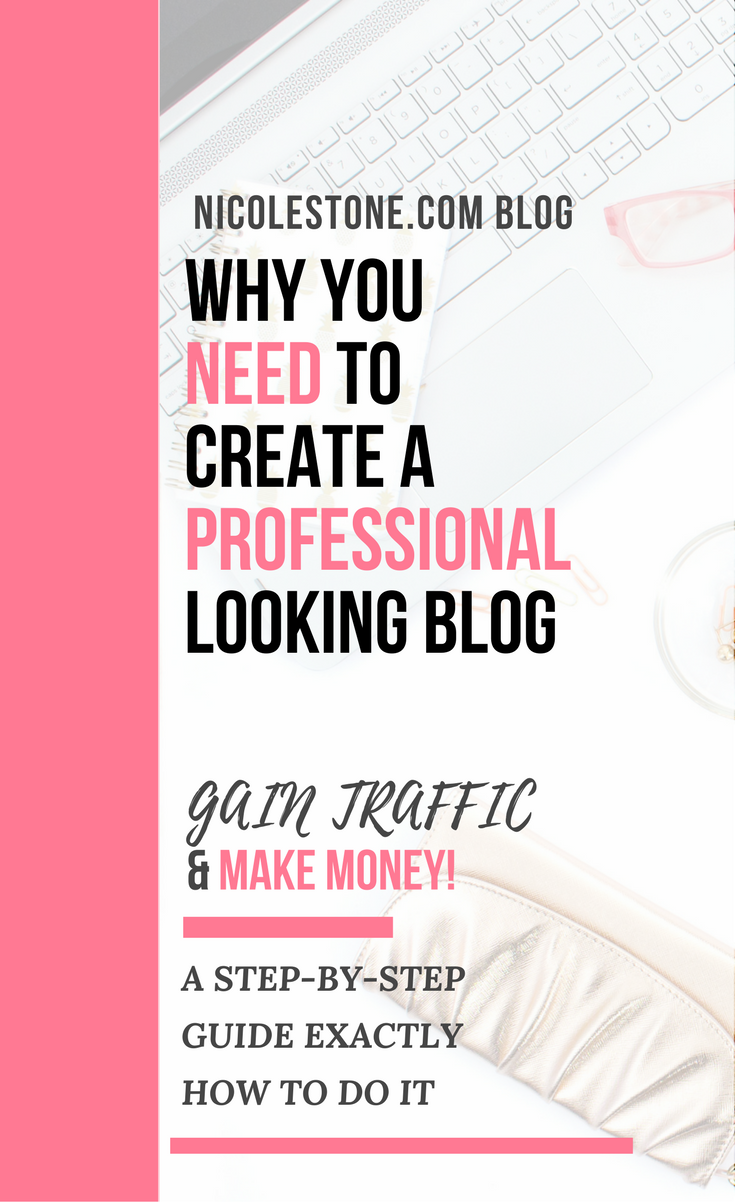 Want to improve your blog? Check out this step by step strategy on how i made a professional looking website that helped gain traffic and make sales. #BLOG #BLOGGING #MAKEMONEY