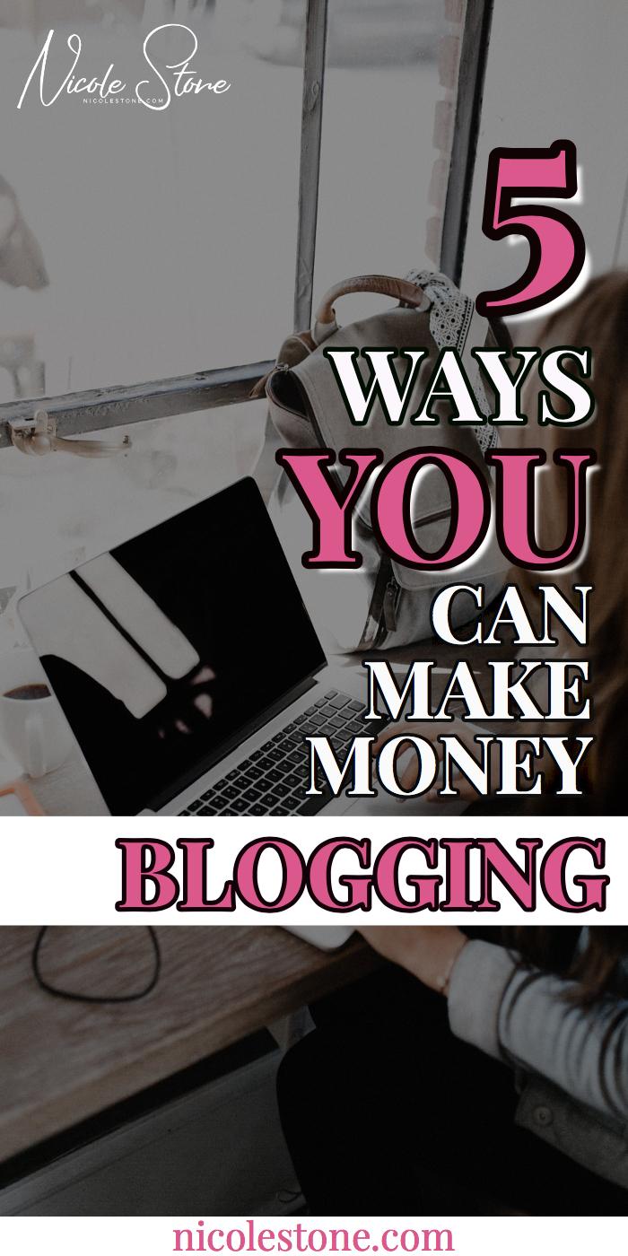 Pinterest pin - blogging traffic