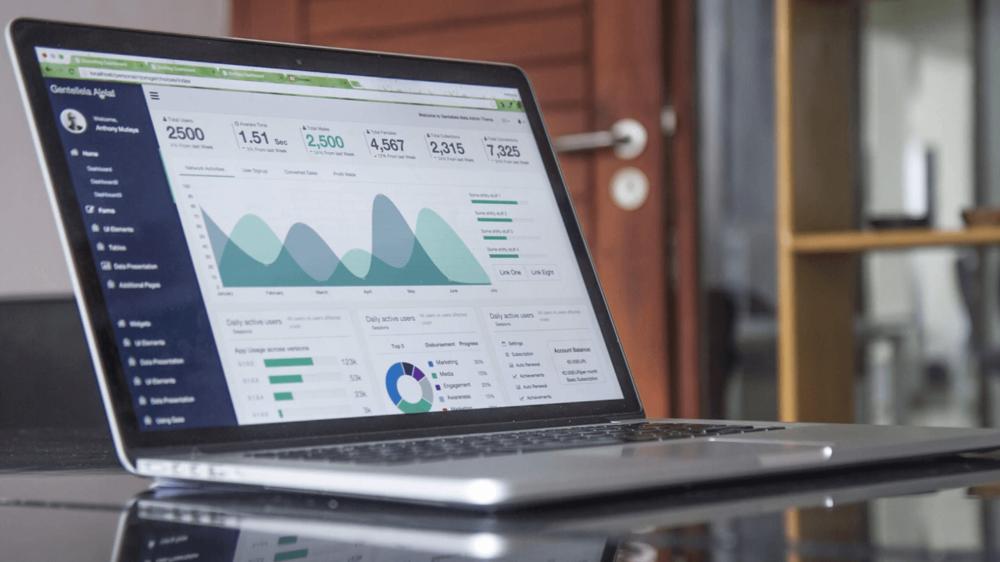 Use Google analytics to show blog traffic.